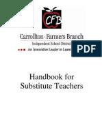 2011-2012 Substitute Teaching Handbook