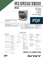 HCD-DR3_HCD-DR330_HCD-XB200