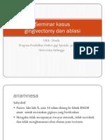 gingivec- ablasi