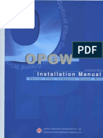 OPGW Installation Manual