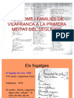 Carrers Families i Oficis a La Primera