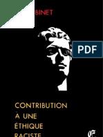 Binet René - Contribution à une éthique raciste