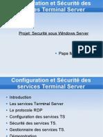 Configuration Et Services Terminal Server