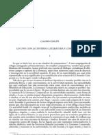 Lo Uno Con Lo Diverso Literatura y Complejidad 0