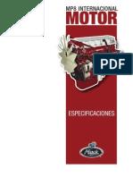 Especificaciones Del Motor MP8