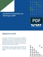 Taller de Gerencia de Proyectos Con MS Project 2007