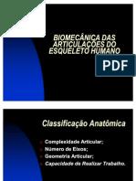 Biomecânica das articulações do esqueleto humano 28-03-11
