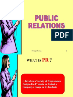 Marketing-public relations