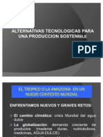 Alternativas Tecnologicas Para Una Produccion Sostenible