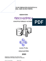FISICOQUÍMICA 3°.Conceptos teóricos