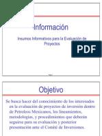 3. Lineamientos y Bases Para Eval de Proy -PEMEX