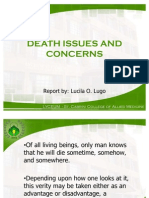 Death Issues and Concerns
