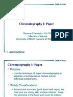 Chromatography Paper