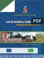 Plan de Desarrollo Economico Tarma