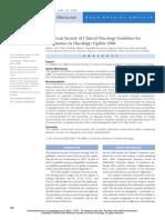 ASCO Anti Emetics in Oncology