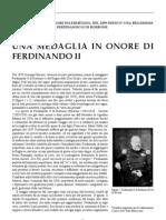 Medaglia Ferdinando II Borbone