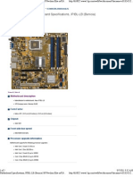 Motherboard Specifications, IPIBL-LB (Benicia) HP Pavilion Elite m9260f
