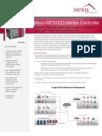 Meru MC5000 Data Sheet