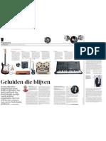 Geluiden Die Blijven - Volkskrant 9 aug 2011