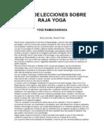 Yogui Ramacharaka, Raja Yoga