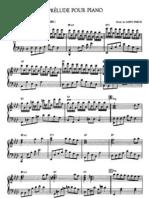 Saint-Preux - Prelude Pour Piano