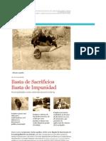 Basta de Impunidad Basta de Sacrificios - CASO SAN ANTONIO
