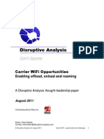 Disruptive Analysis - Carrier WiFi