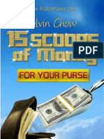 15 Scoops of Money for Your Purse