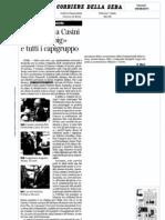 Da Bersani a Casini. In Aula i «big» e tutti i capigruppo - Corriere della Sera del 09.08.11