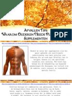 Afvallen Tips Waarom Ouderen Needs Pure Protein Supplement En