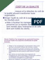 Audit Du Cout de La Qualite