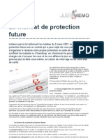 Presentation Du Mandat de Protection Future