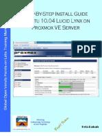 Install Guide Ubuntu 10.04 Lucid Lynx on Proxmox VE Server