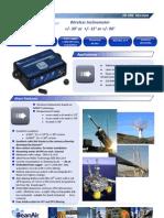 Wireless Sensor for Measuring Inclination & Tilt
