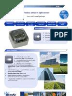 Eco-friendly Wireless Sensor for Light