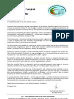 Carta Para CM VRSA 08ago2011