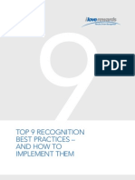 Top 9 Recognition Best Practices Guide