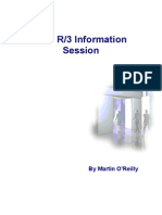 SAP Training] SAP R3 Basic User Guide