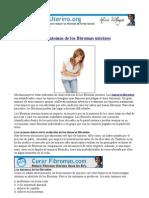 fibromas uterinos sintomas y tratamiento natural