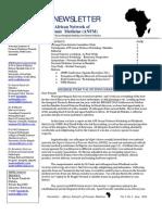 ANFM Newsletter July 2011