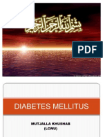 Diabetes Millitus by Mutajalla Khushab (1)