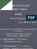 ICMS SubstituicaoTributaria