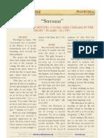 """Psalm 126 v4 - """"Streams"""""""