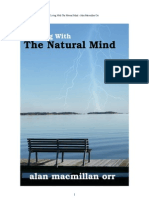 Living With The Natural Mind