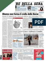 Corriere Della Sera 09.08.11