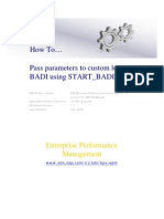 BADI Implementation