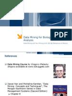 DMTM Biological Data Analysis