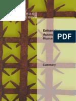 Enhancing Access to Human Rights - Summary