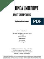 Necromunda Under Hive, Uncut Short Stories by Jonathan Green