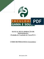 Manual Tcc Pedagogia Aprovado Mec 2010 2
